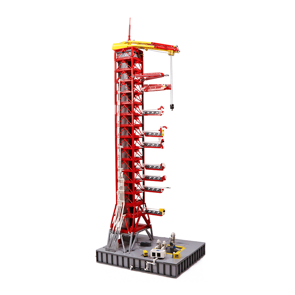 NASA Saturn-V Launch Umbilical Tower