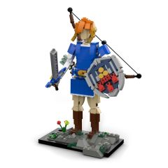 MOC Link from The Legend of Zelda