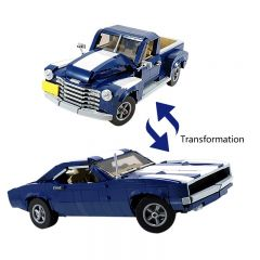 MOC-45479 10265 (2in1) Muscle Car or Pickup Truck LEGO Alternative Build