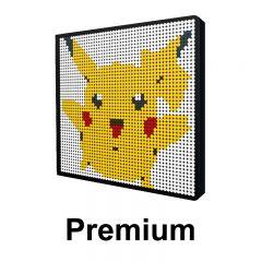 Pikachu Pixel Art Upgraded Version