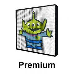 Toy Story-Alien Pixel Art Upgraded Version