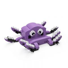 MOC Octopus Mobile Phone Stand