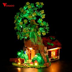 Winnie the Pooh # Lego Light Kit for 21326