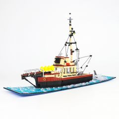 Refurbished MOC-38659 The Orca Jaws
