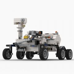 Refurbished MOC-48997 Perseverance Mars Rover & Ingenuity Helicopter