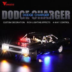 LEGO Dom's Dodge Charger 42111 Light Kit