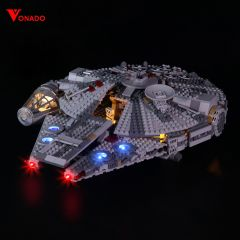 Millennium Falco # Lego Light Kit for 75257