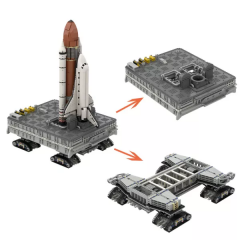 NASA Space Shuttle with Mobile Launcher Platform