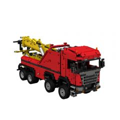MOC-0583  Scania 8x8 Extreme tow truck
