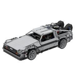MOC-42632 Back to the Future 1985 DeLorean Time Machine