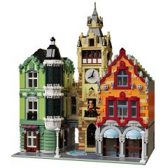 MOC-21266 Modular Clock Tower Square
