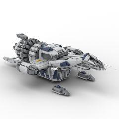 MOC-12777 Firefly Serenity Spaceship