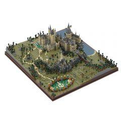 MOC-45950 Harry Potter Hogwarts Castle Epic Detailed Build