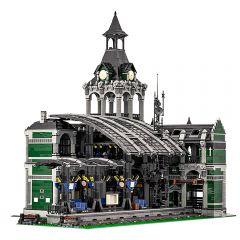 MOC-37719 Modular Train Station