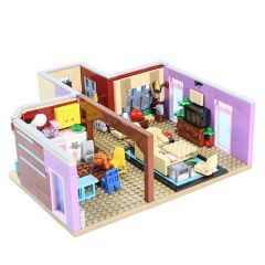Refurbished MOC-29532 Friends,The Television Series - Monica's Apartment