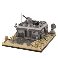 MOC-50143 Star Wars Base (Outpost) on Tatooine