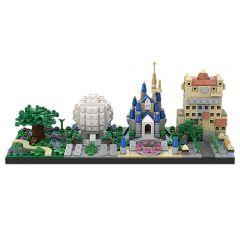 MOC-28995 Disney World Skyline