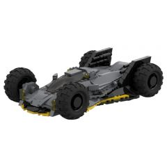 Refurbished MOC-52346 Militarized batmobile