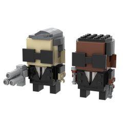 MOC-49034 Men in Black Brickheadz