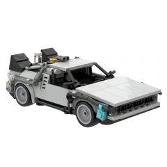 MOC-30085 DMC DeLorean Time Machine