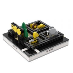 MOC-31587 Mini ZOO for a Modular City