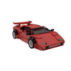 Multicolor MOC-57779 Lamborghini Countach LP5000 QV