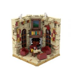 MOC-48856 HP Castle Common Room Bookend/Display Stand