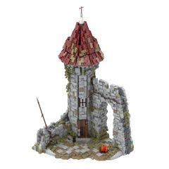 MOC-42261 Castle for the game Dark Souls