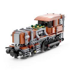 MOC-51372 Steampunk Crocodile Locomotive Alternative Build of LEGO Set 10277