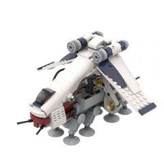 Refurbished MOC-51483 Republic Dropship & AT-OT Building Kits