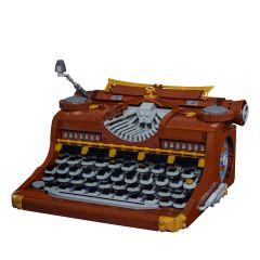 MOC-14237 Steampunk Typewriter