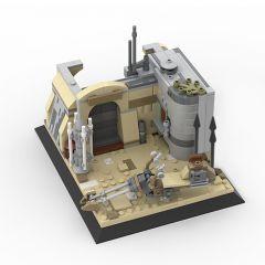 MOC-58709 The Mandaorian on Tatooine