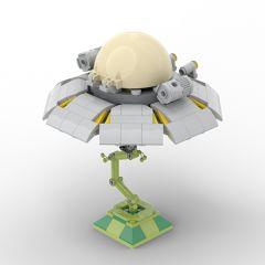 MOC Rick and Morty Spaceship