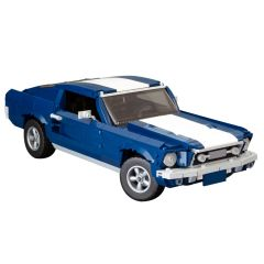 MOC 1967 Ford Mustang GTA Fastback Modification of LEGO Set 10265