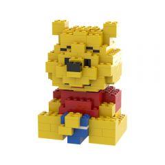 Moc BrickAnd_Character winnie the pooh