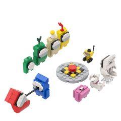 Refurbished Among Us Toys Action Figures Building Kits