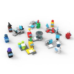 Refurbished Among Us Toys Action Figures Building Kits Sets