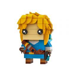 Link (Breath of the Wild) BrickHeadz by Stormythos