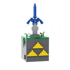 MOC The Master Sword Box - Puzzle
