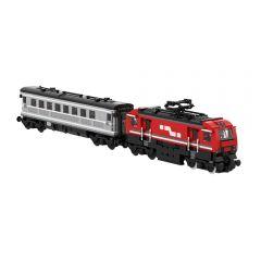 Passenger train MOC