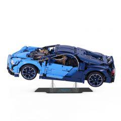 LEGO 42083 Bugatti Chiron Acrylic Display Stand