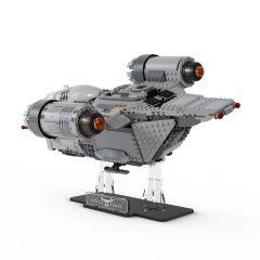 LEGO 75292 The Razor Crest Acrylic Display Stand