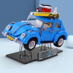 LEGO 10252 Volkswagen Beetle Car Acrylic Display Stand