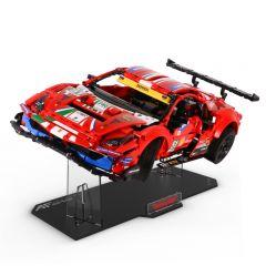 LEGO 42125 Ferrari 488GTE Acrylic Display Stand