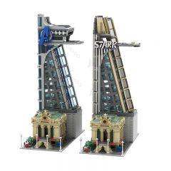 MOC-39673 Modular Avengers and Stark Tower Stark Tower
