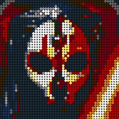 Starwars Sith-Pixel art
