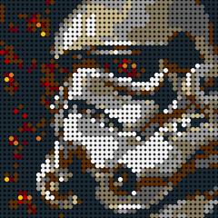 Starwars Vader-Pixel art