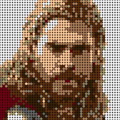Reunion Thor-Pixel art