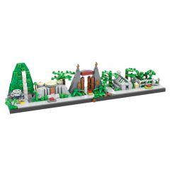 MOC-38954 Jurassic Park Skyline