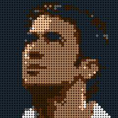 Ronaldo-Pixel art
